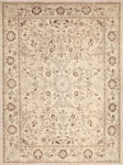 "Sun-Faded Ouissal Ivory/Brown Rug, 9'1"" x 12'1"""