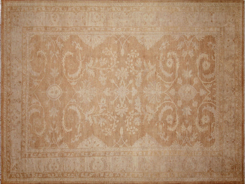 "Sun-Faded Gulayim Lt. Brown/Beige Rug, 10'1"" x 13'4"""