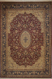 "Wali Thaddeus Red/Blue Rug, 9'1"" x 12'5"""