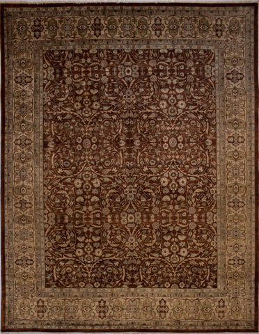 "Ankara Jillian Rust/Gold Rug, 9'2"" x 12'1"""