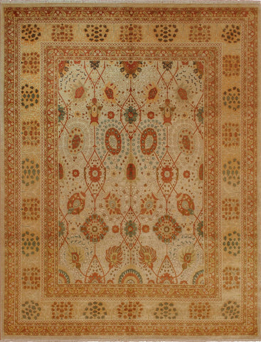 "Wali Alston Beige/Gold Rug, 8'2"" x 10'6"""