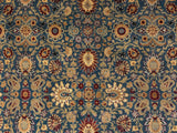 "Wali Yosun Lt. Blue/Red Rug, 8'0"" x 9'11"""