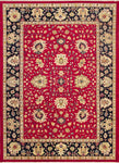"Peshawar Anoud Blue/Red Rug, 8'9"" x 11'11"""