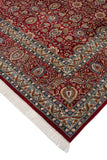 "Wali Remingto Red/Teal Green Rug, 8'11"" x 12'7"""