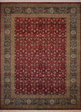 "Wali Carmen Red/Blue Rug, 9'1"" x 12'5"""