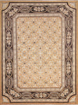 "Sun-Faded Batilde Rust/Black Rug, 8'8"" x 11'4"""
