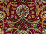 "Ankara Virginia Red/Teal Blue Rug, 9'2"" x 12'4"""
