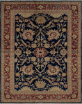 "Wali Kade Blue/Red Rug, 6'2"" x 8'1"""