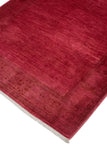 "Overdyed Feride Pink/ Rug, 4'5"" x 6'5"""
