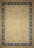 "Sun-Faded Aadil Rust/Blue Rug, 10'2"" x 13'9"""