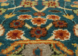 "Ankara Jacob Blue/Ivory Rug, 3'2"" x 4'10"""
