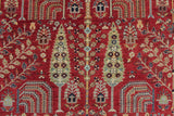 "Aria Janan Red/Blue Rug, 8'8"" x 11'8"""