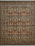 "William Wandstreet Red/Blue Rug, 7'11"" x 9'11"""