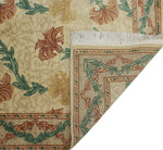 "William Carnation Beige/Lt. Grey Rug, 4'1"" x 6'1"""