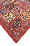 "Aria Qurban Rusty-Red/Blue Rug, 8'11"" x 11'10"""