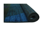 "Overdyed Carlene Blue/Green Rug, 2'10"" x 5'0"""