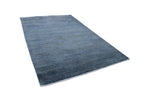 "Overdyed Hikmet Blue/Black Rug, 5'10"" x 8'10"""