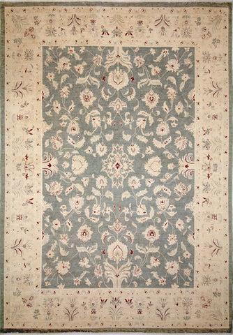 "Sun-Faded Arley Grey/Ivory Rug, 10'0"" x 13'10"""