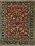 "Wali Oaklee Red/Black Rug, 9'2"" x 12'0"""