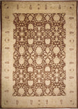 "Sun-Faded Ines Chocolate/Beige Rug, 10'0"" x 13'11"""