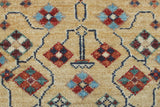 "Aria Barrick Blue/Red Rug, 2'8"" x 19'2"""