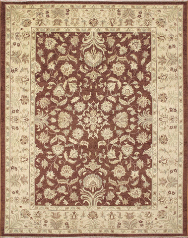 "Sun-Faded Westley Chocolate/Beige Rug, 9'1"" x 11'10"""