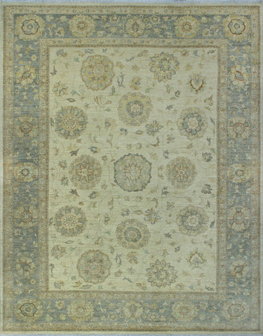 "Yousafi Karley Ivory/Silver Rug, 8'10"" x 11'8"""