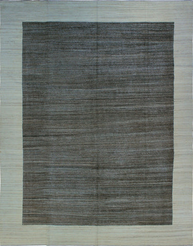 Winchester Chinua Brown/Ivory Rug, 11'10 x 15'2