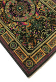 "Aria Harold Black/Purple Rug, 4'1"" x 6'2"""