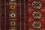 "Semi Antique Adelina Red/Blue Rug, 7'1"" x 10'2"""
