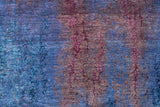 "Fine Galaxy Raiid Purple/Blue Rug, 8'1"" x 10'2"""