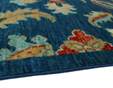 "Aria Pierce Blue/Ivory Rug, 9'10"" x 12'10"""