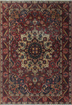 "Semi Antique Kehlani Pink/Ivory Rug, 4'8"" x 6'8"""