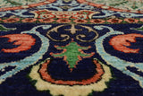 "Fine Galaxy Evie Purple/Orange Rug, 8'0"" x 10'6"""