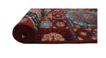 "Aria Bettie Red/Blue Runner, 2'8"" x 14'6"""