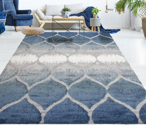 Monaco Theron Blue Rug