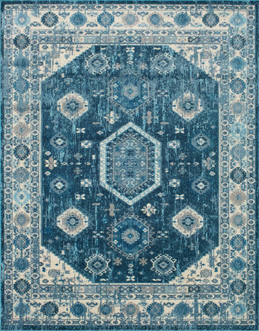 Sapphire Terese Blue Rug