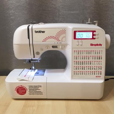 Floor Model Brother Sewing Machine - SB700T