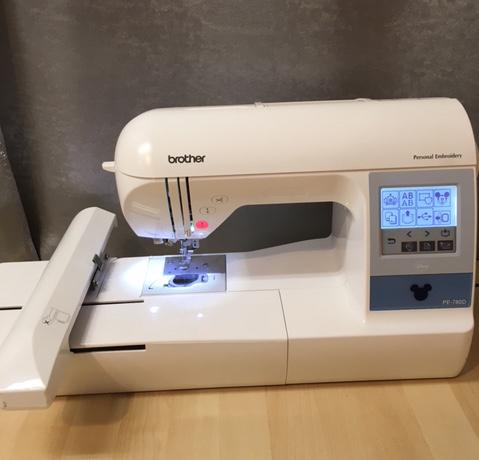 Floor Model Brother Embroidery Machine - PE780D