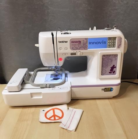 Floor Model Brother Combo Sewing/Embroidery - NV950D