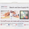 Sketch and Sew at Home Supply Kit (includes membership)