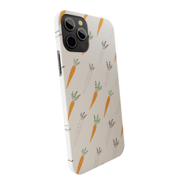 Carrot & Raddish - Matte finished Trendy  Back Case Zozzlefield