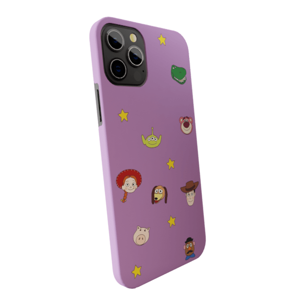 Cartoon Characters - Matte finished Trendy  Back Case Zozzlefield