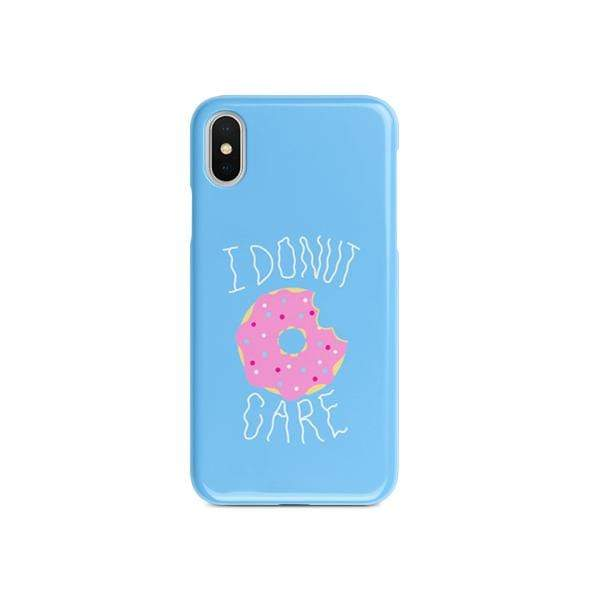 Donut care Matte finished Printed Back Case Zozzlefield