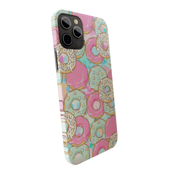 Donuts - Matte finished Trendy  Back Case Zozzlefield