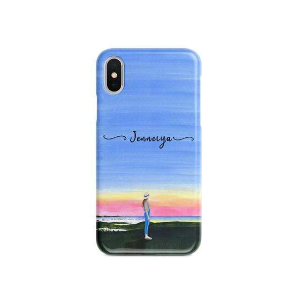 Explorer Matte finished Name Printed Back Case Zozzlefield