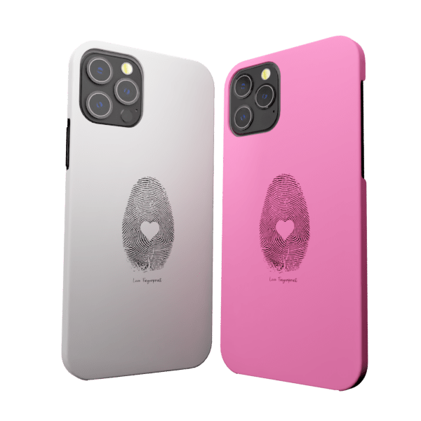 Fingerprint Love zozzlefield Couple Cases Zozzlefield