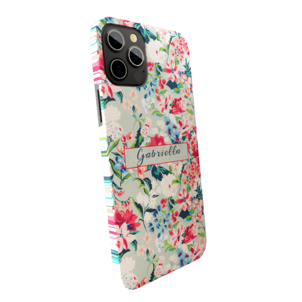 Hibiscus zozzlefield Matte finished Name Printed Back Case Zozzlefield
