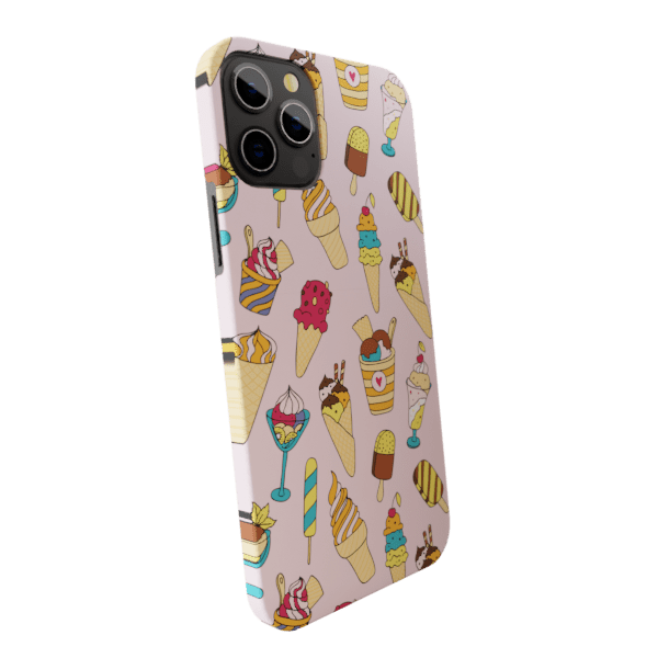 Ice Cream Love - Matte finished Trendy  Back Case Zozzlefield
