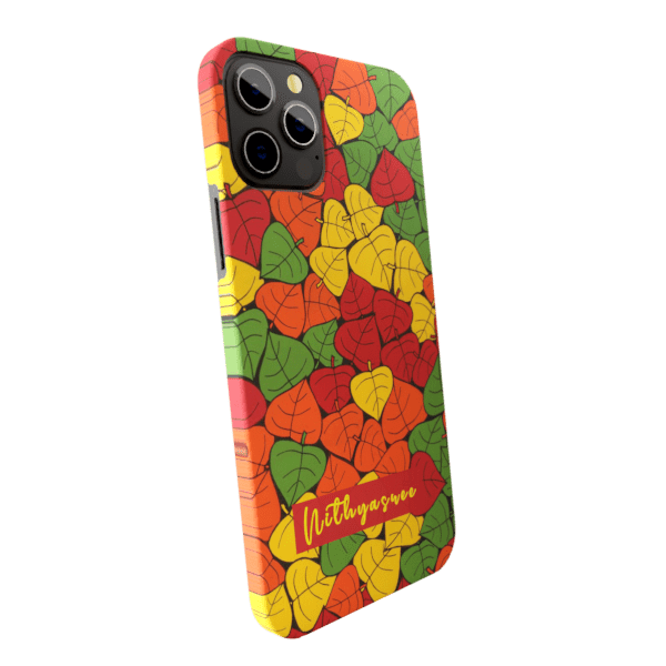 Leaves zozzlefield Matte finished Name Printed Back Case Zozzlefield
